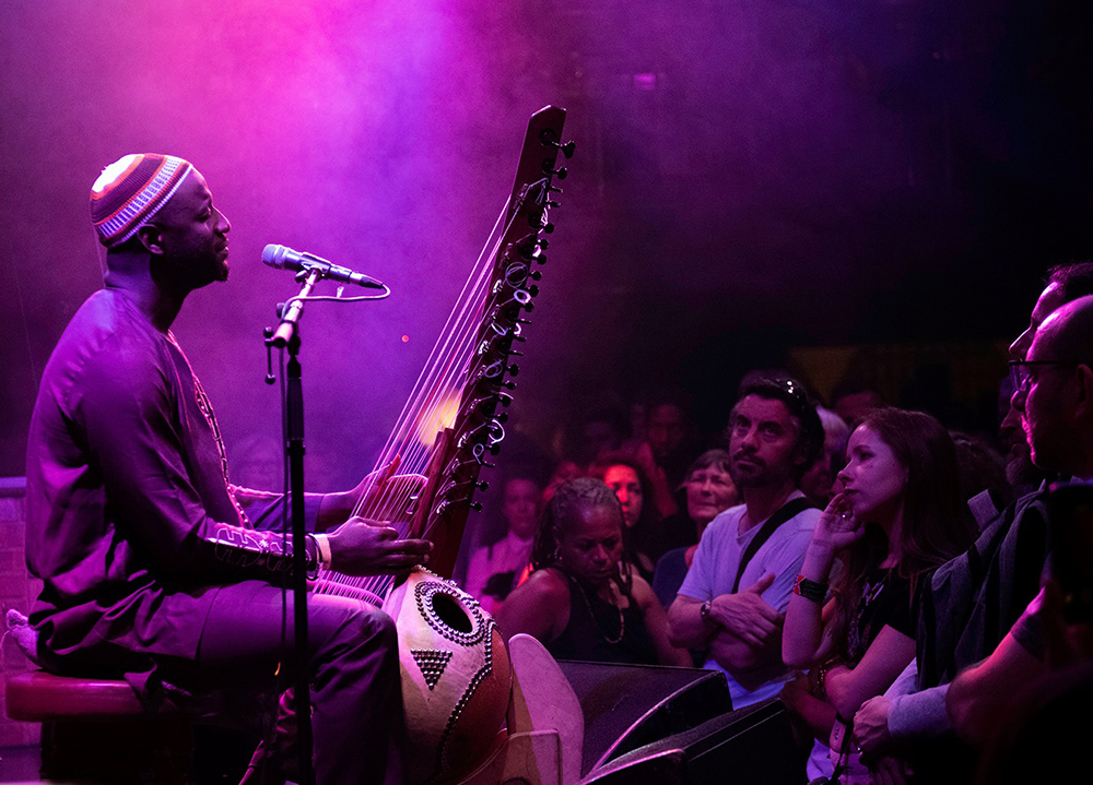 LIVE: Sekcou Keita at London's Jazz Cafe