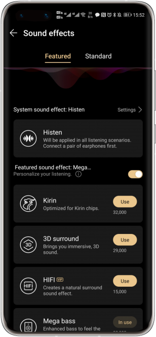 Huawei-music-sound-effects