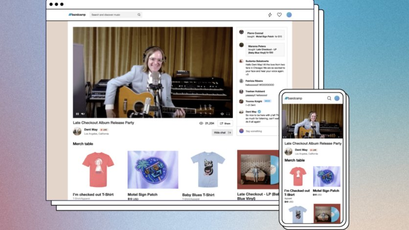 Bandcamp Expands Into Ticketed Livestreams, With BandcampLive