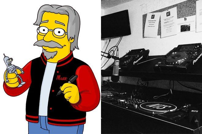 The Simpsons' Matt Groening Will Join Theo Parrish On NTS April28th